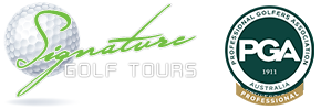 Signature golf tours with PGA & LPG professionls